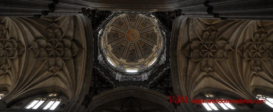 Cimbori i Creuer de la Catedral Nova de Salamanca