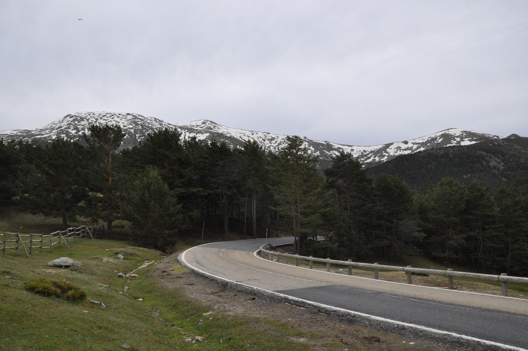 Cims de la Sierra de Guadarrama de Madrid