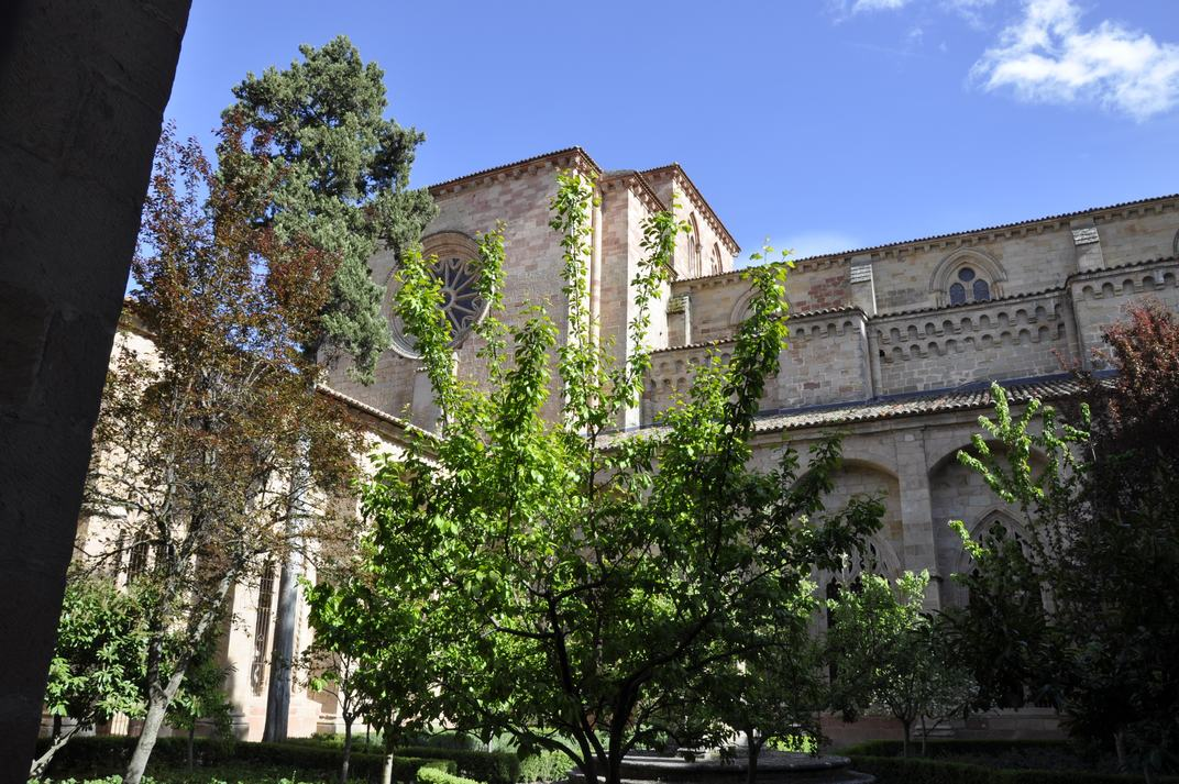 Claustre de la Catedral de Sigüenza de Castella - La Manxa