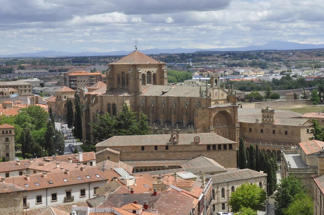 Convent de Sant Esteve des de la Clerecia de Salamanca