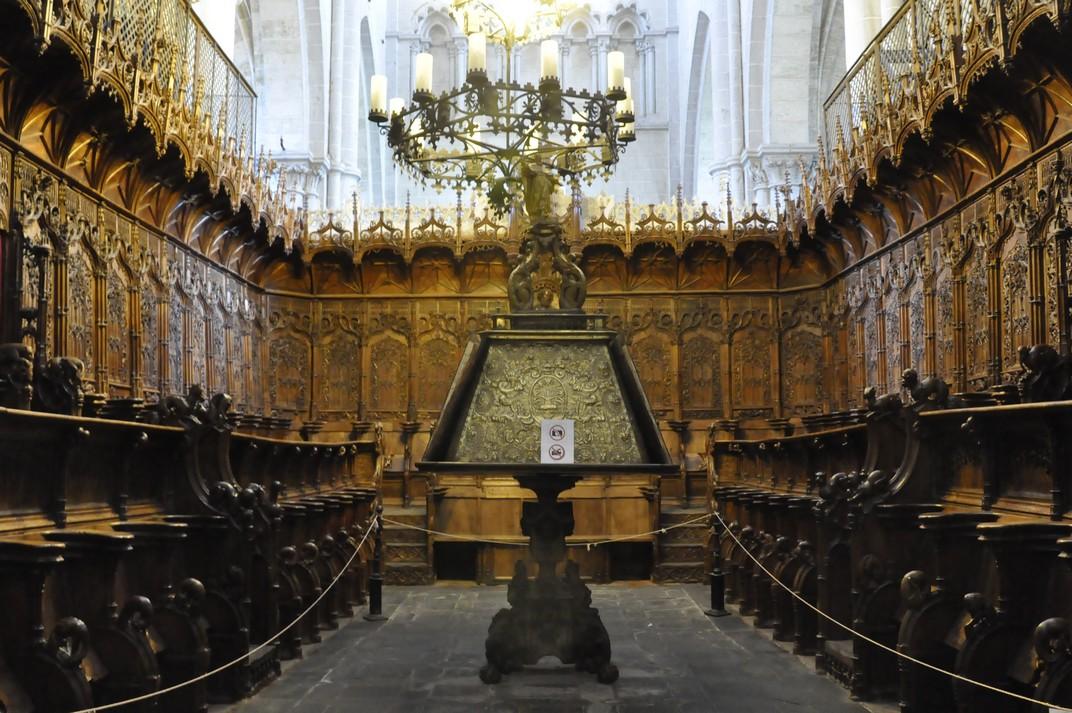Cor de la Catedral de Ciudad Rodrigo de Salamanca