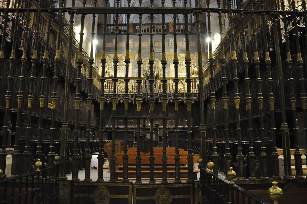 Cor de la Catedral de Sigüenza de Castella - La Manxa