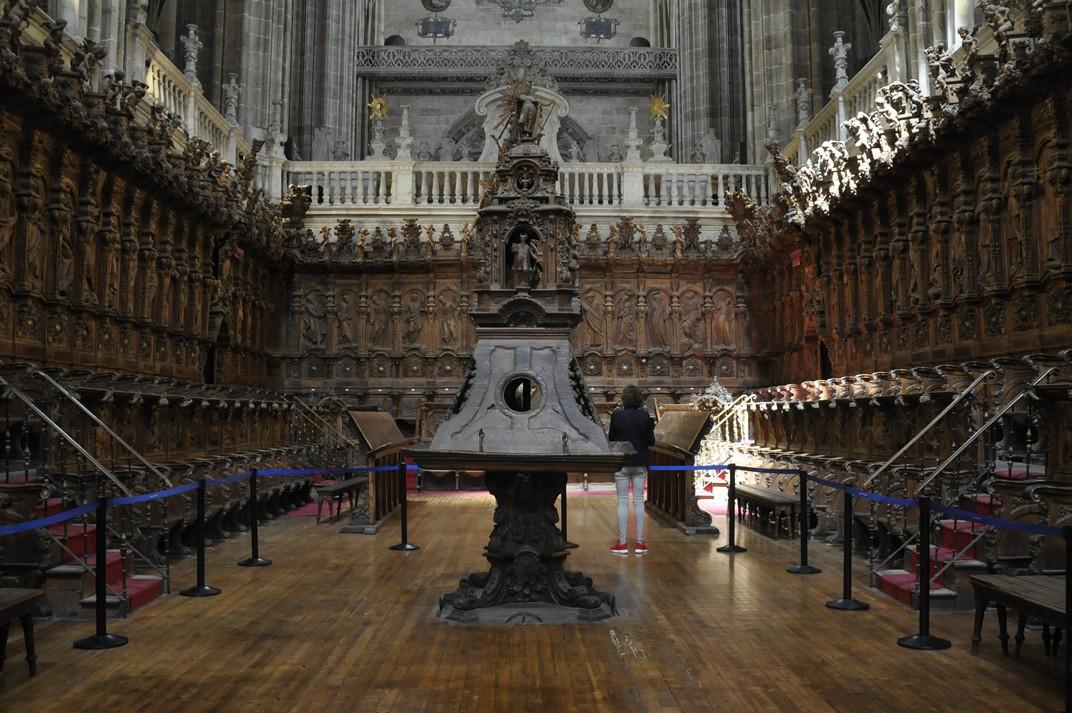 Cor de la Catedral Nova de Salamanca