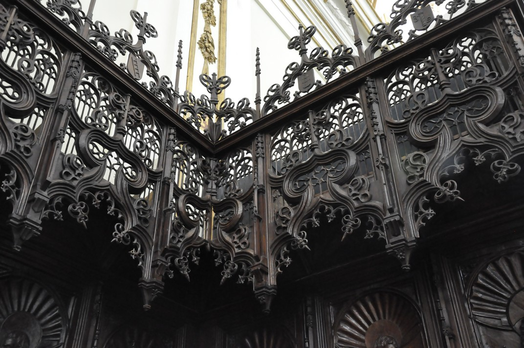 Cor del Monestir de Santa Maria d'El Paular de Madrid