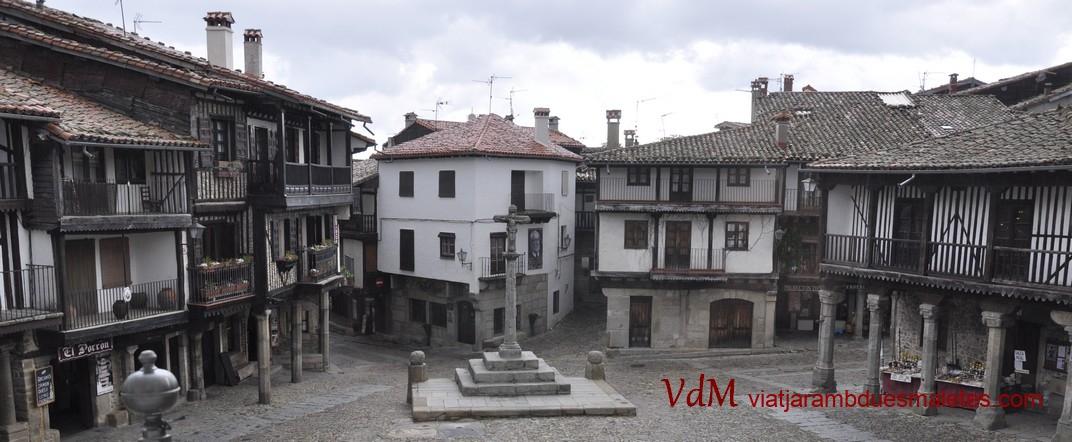 Creuer de la Plaça Major de La Alberca de Salamanca