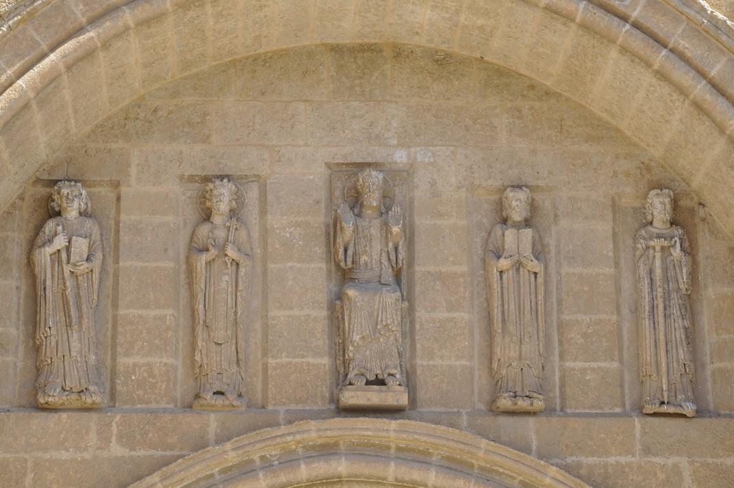Crist i apòstols de la Catedral de Ciudad Rodrigo de Salamanca