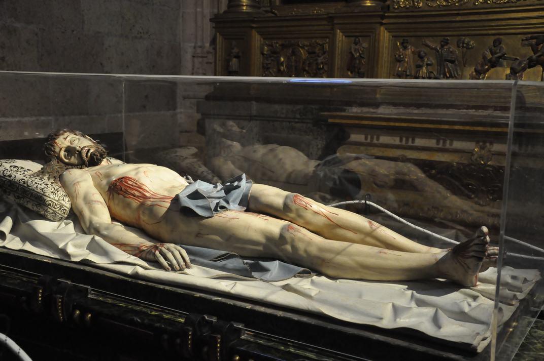 Crist jacent de la Catedral de Segòvia