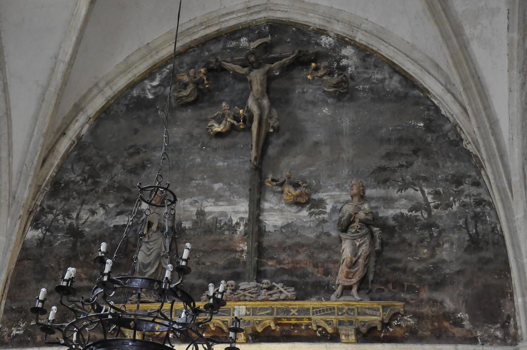 Crucifixió del Monestir de Santa Maria d'El Paular de Madrid