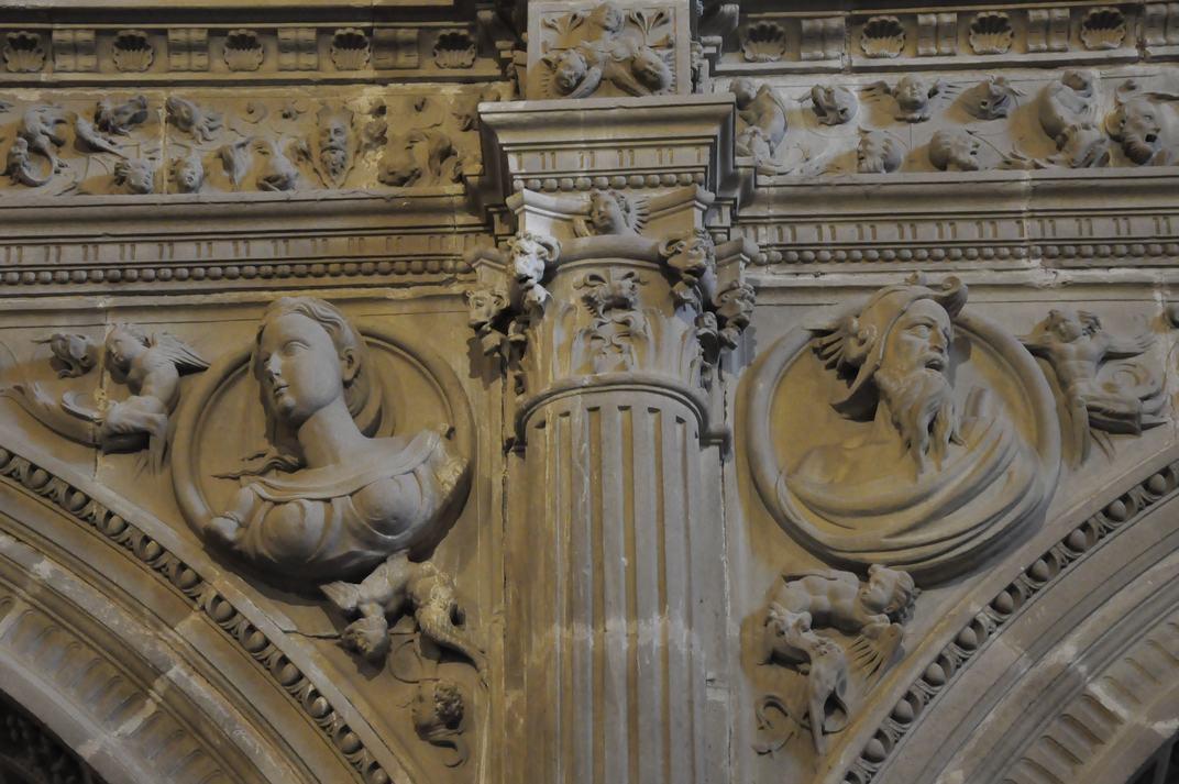 Detall de la Sagristia de la Catedral de Sigüenza de Castella - La Manxa