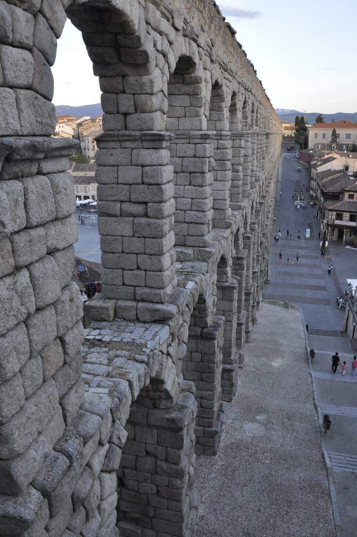 Doble arcada de l'Aqüeducte de Segòvia