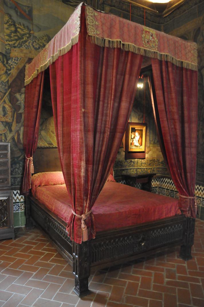 Dormitori del rei Joan II de l'Alcàsser de Segòvia