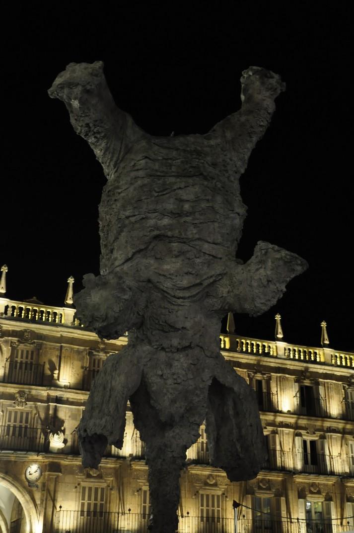 Elefant de Miquel Barceló - plaça Major de Salamanca
