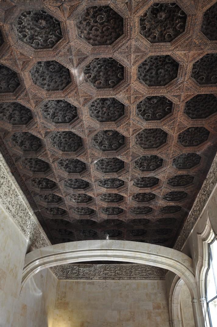 Enteixinat mudèjar de la Biblioteca de la Universitat de Salamanca