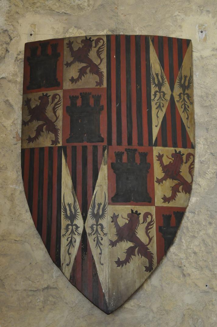 Escut de Castella i Lleó de l'Alcàsser de Segòvia