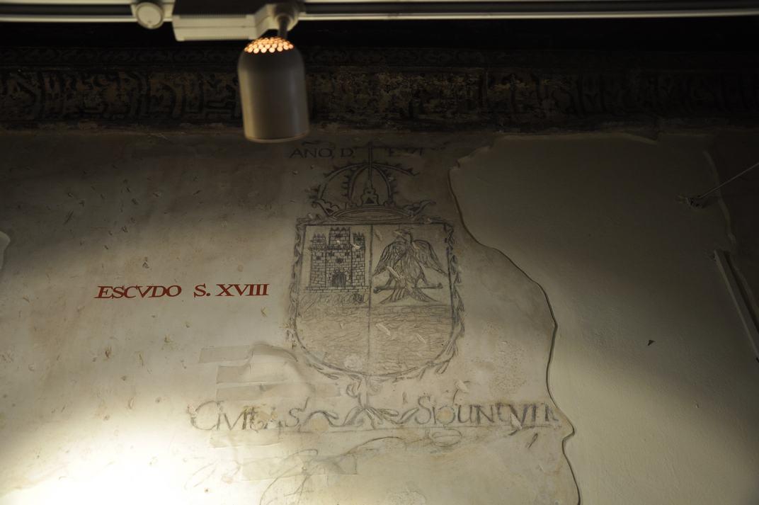 Escut de la Casa del Doncel de Sigüenza de Castella-La Manxa