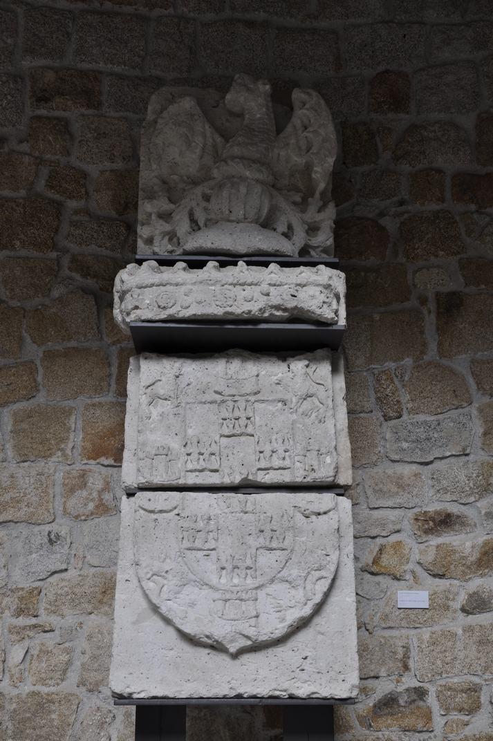 Escut dels Mendoza del Castell de Manzanares El Real de Madrid