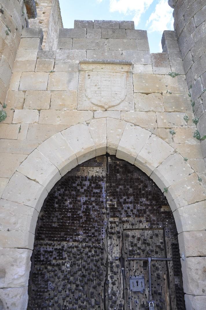 Escut dels Velasco al Castella de Pedraza de Segòvia