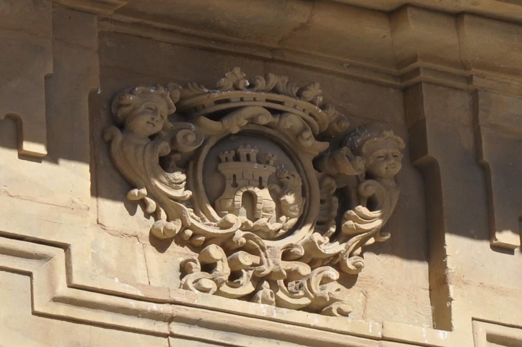 Escuts nobiliaris del pavelló de la Universitat de la Plaça Major de Salamanca