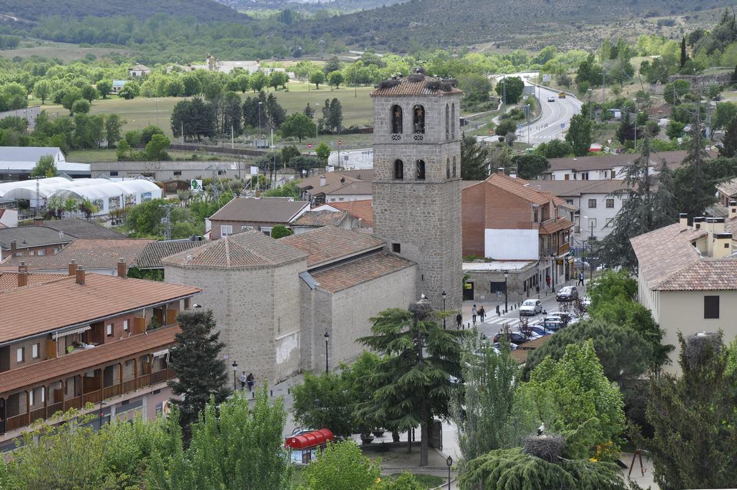 Església de Nostra Senyora de les Neus de Manzanares El Real de Madrid