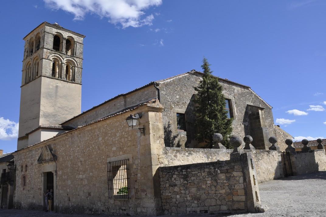 Església de Sant Joan Baptista - Plaça Major de Pedraza de Segòvia