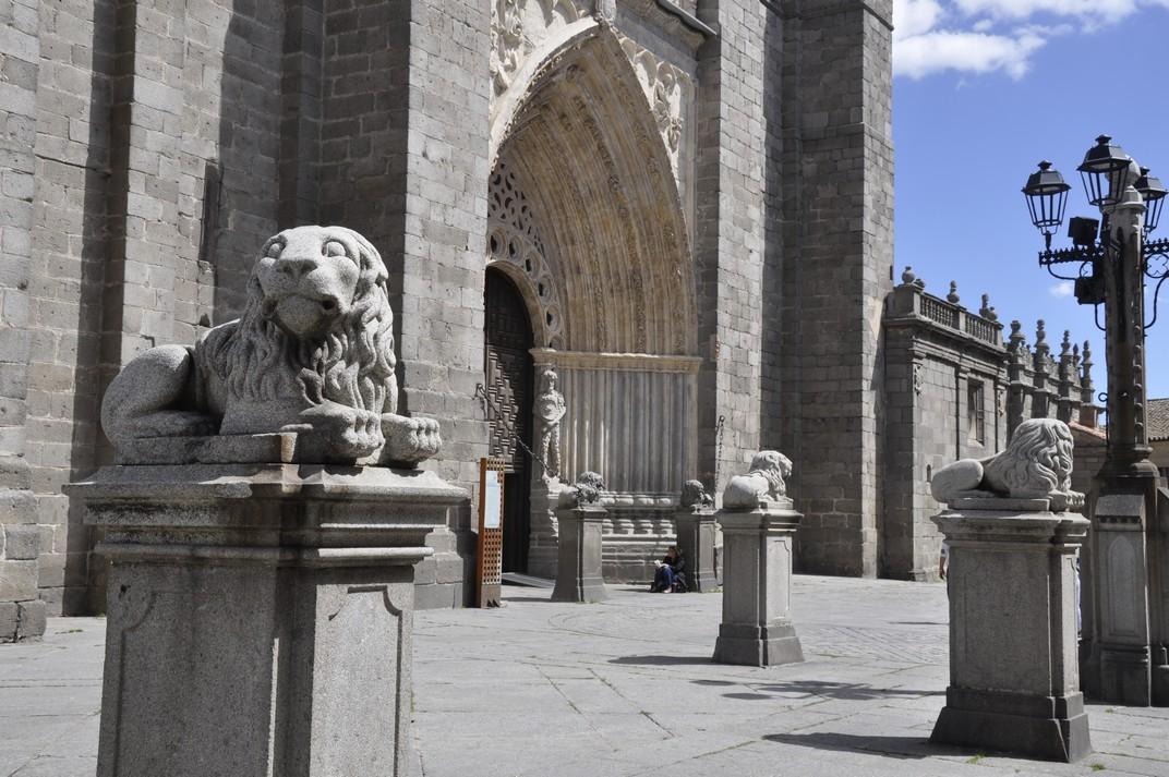 Esplanada de la plaça de la Catedral d'Àvila