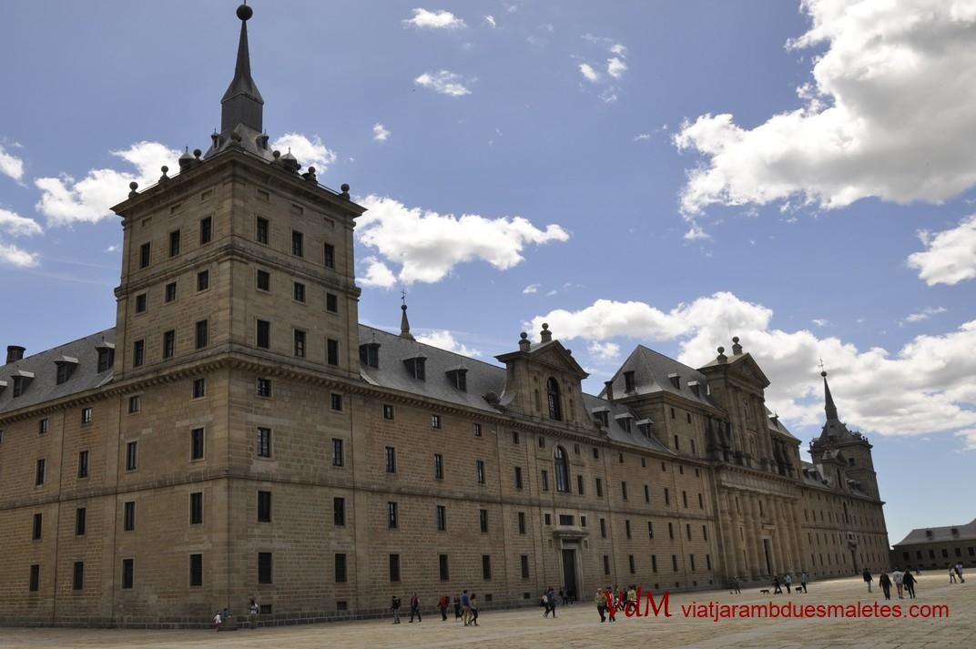 Façana oest del Monestir d'El Escorial de Madrid