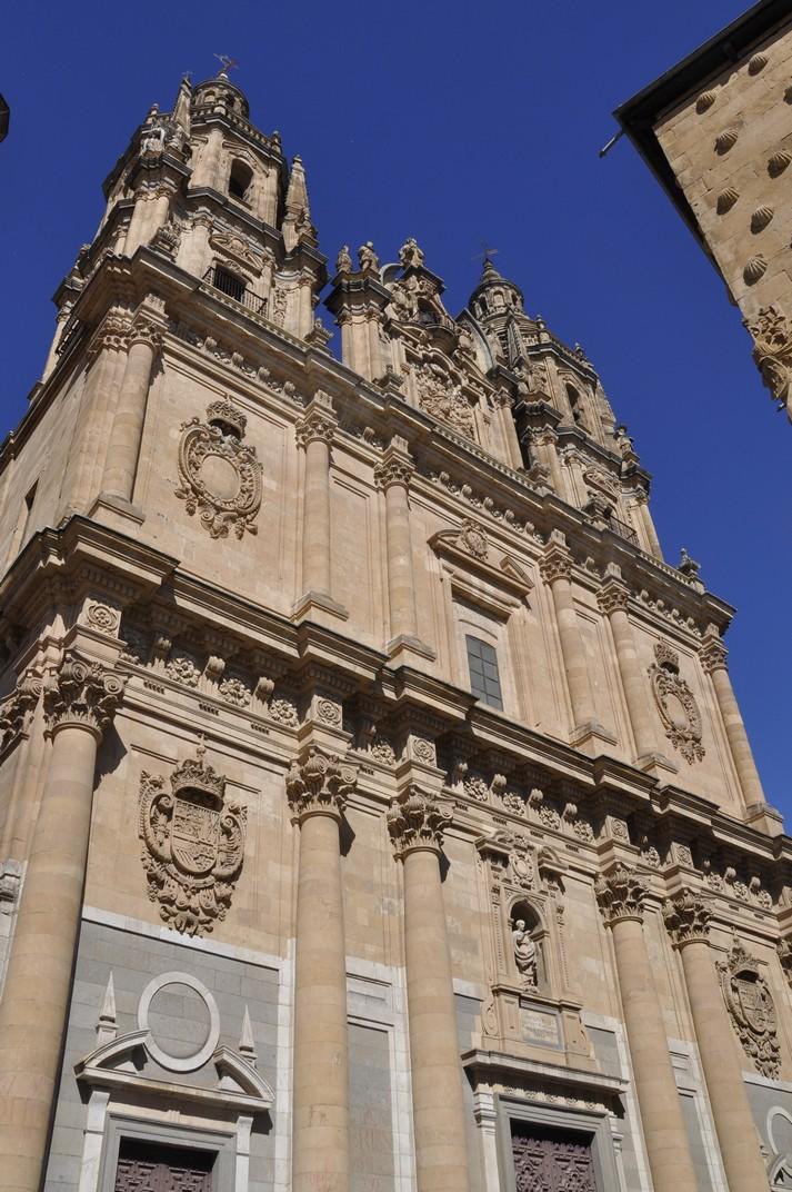 Façana principal de l'Església de la Clerecia de Salamanca
