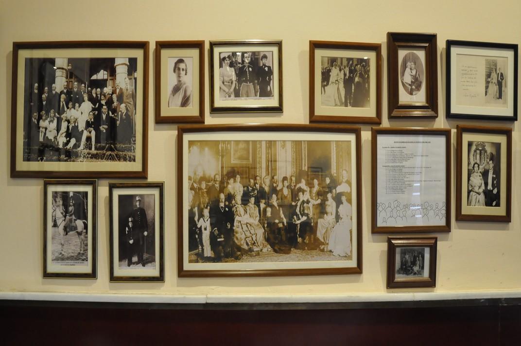 Família Reial Espanyola al Real Sitio de San Ildefonso