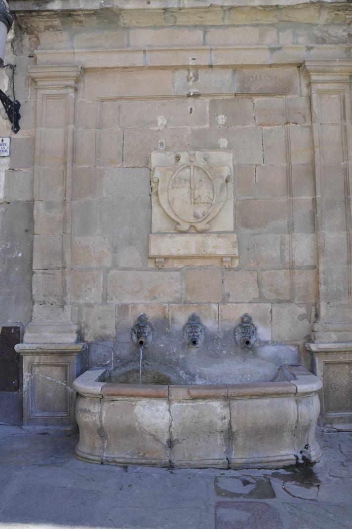 Font de la Catedral de Sigüenza de Castella-La Manxa