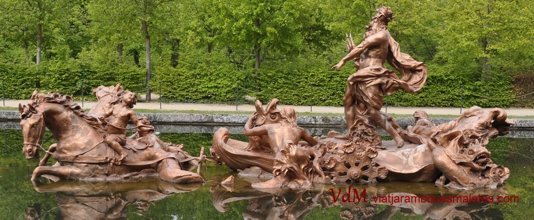 Font de Neptú del Palau de la Granja de Segòvia