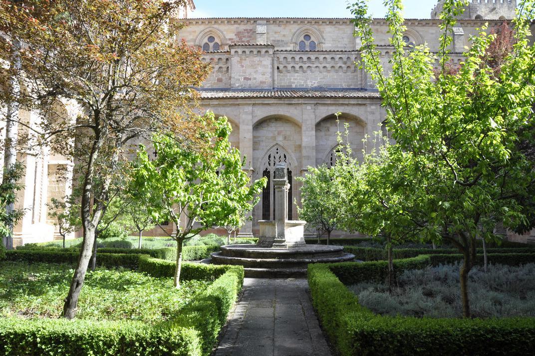 Font de pedra del Claustre de la Catedral de Sigüenza de Castella - La Manxa