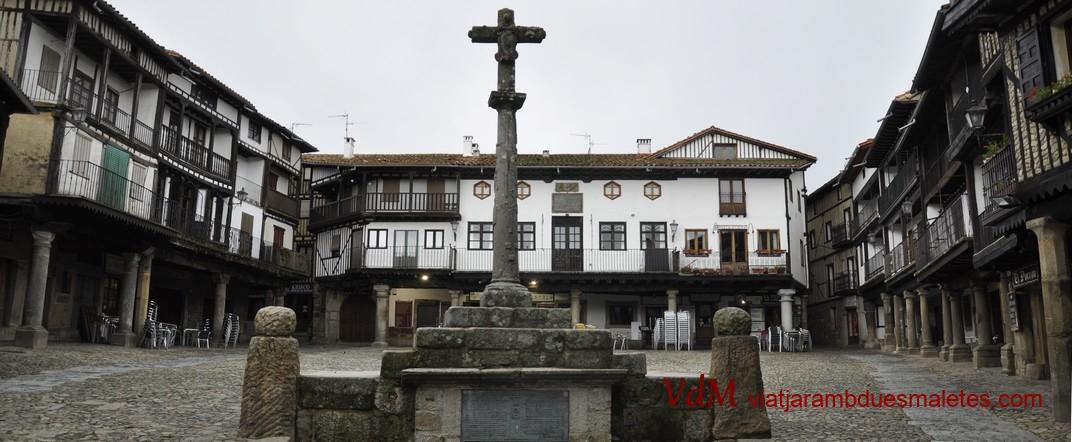 Font i creuer de la Plaça Major de La Alberca de Salamanca