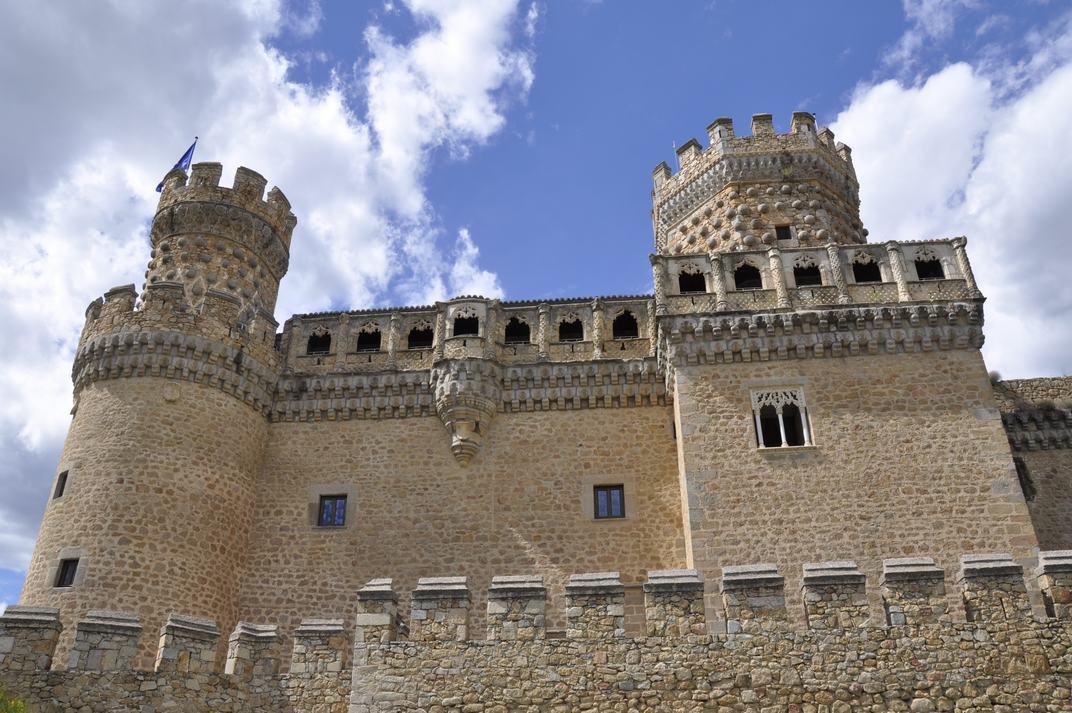 Galeria de Juan Guas del Castell de Manzanares El Real de Madrid