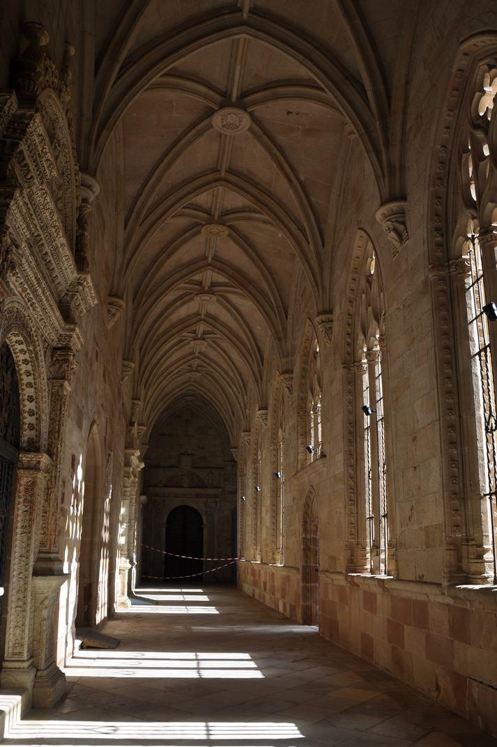 Galeria del Claustre de la Catedral de Sigüenza de Castella - La Manxa