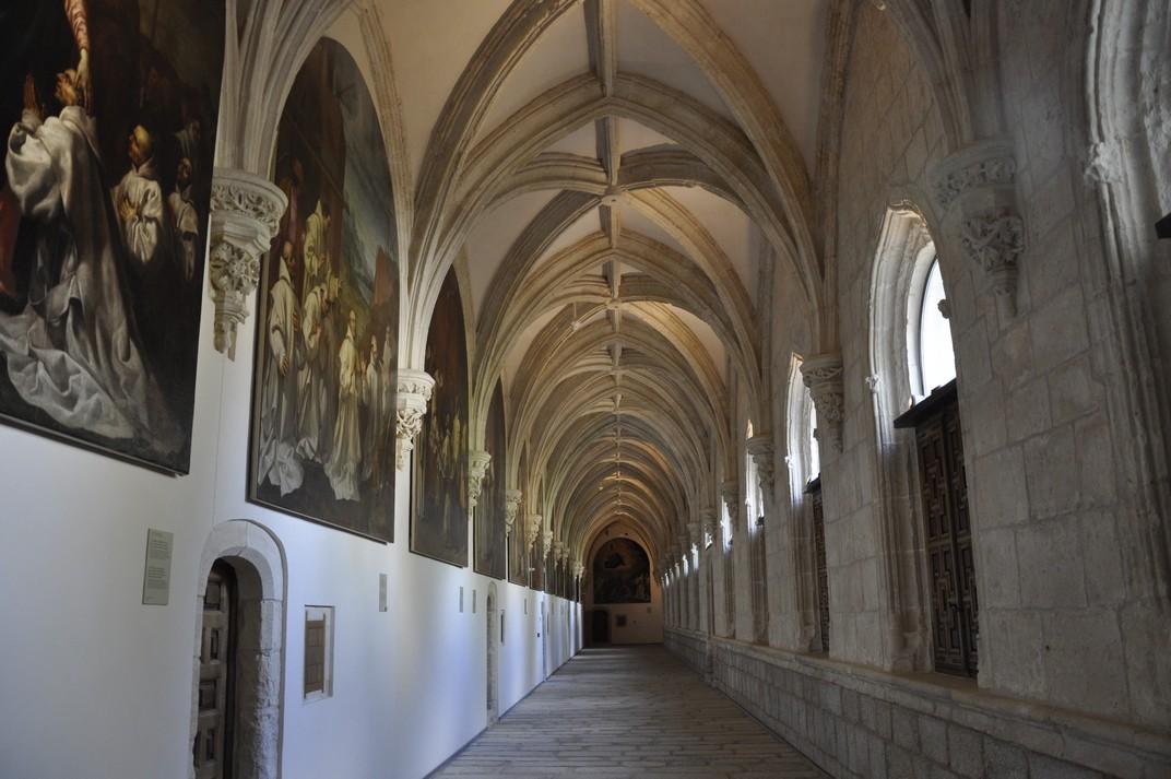 Galeries del Claustre del Monestir de Santa Maria d'El Paular de Madrid