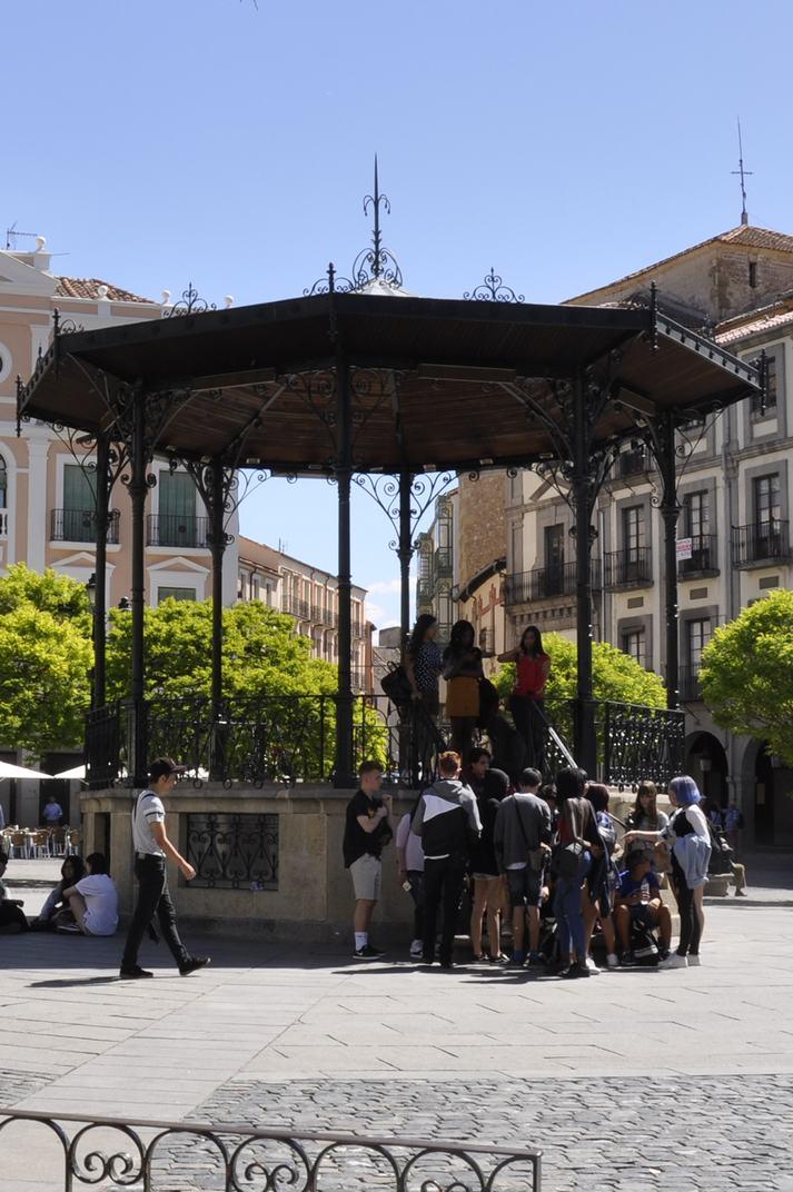 Glorieta de la Plaça Major de Segòvia