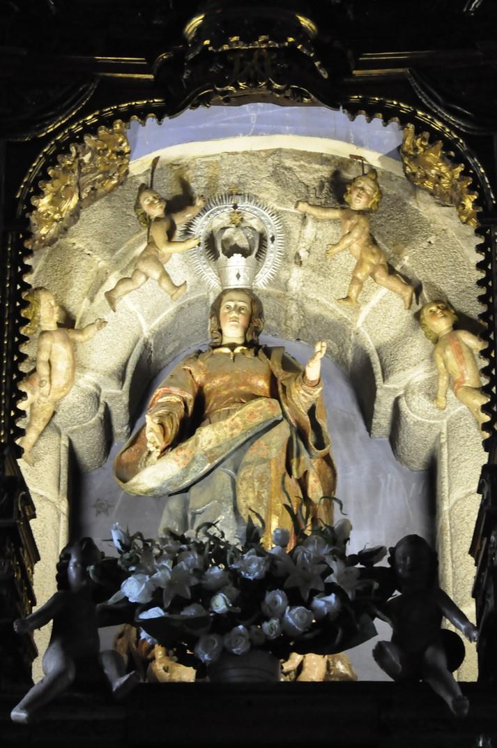 Imatge de Nostra Senyora de l'Assumpció de La Alberca de Salamanca