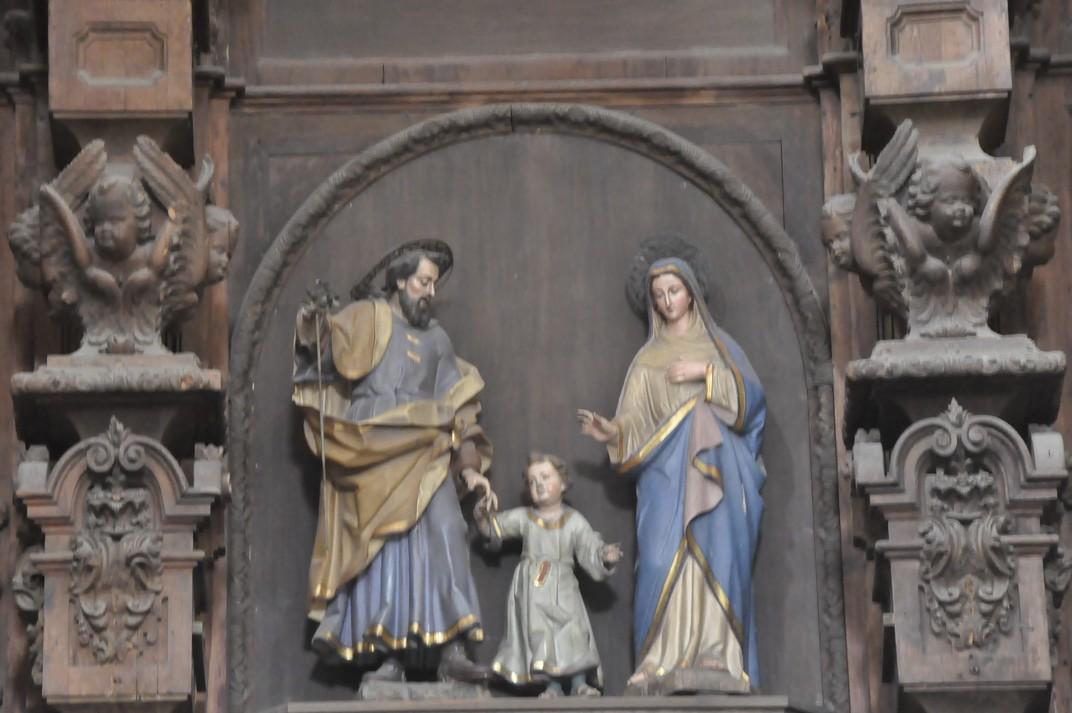 Imatge del Retaule Major de l'església de Sant Martí de Tours de la Ciutat de Salamanca