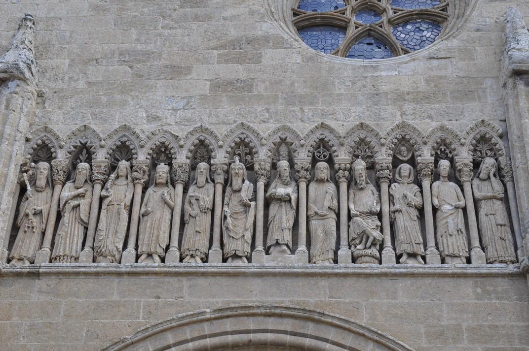Imatges de l'Antic Testament de la Catedral de Ciudad Rodrigo de Salamanca
