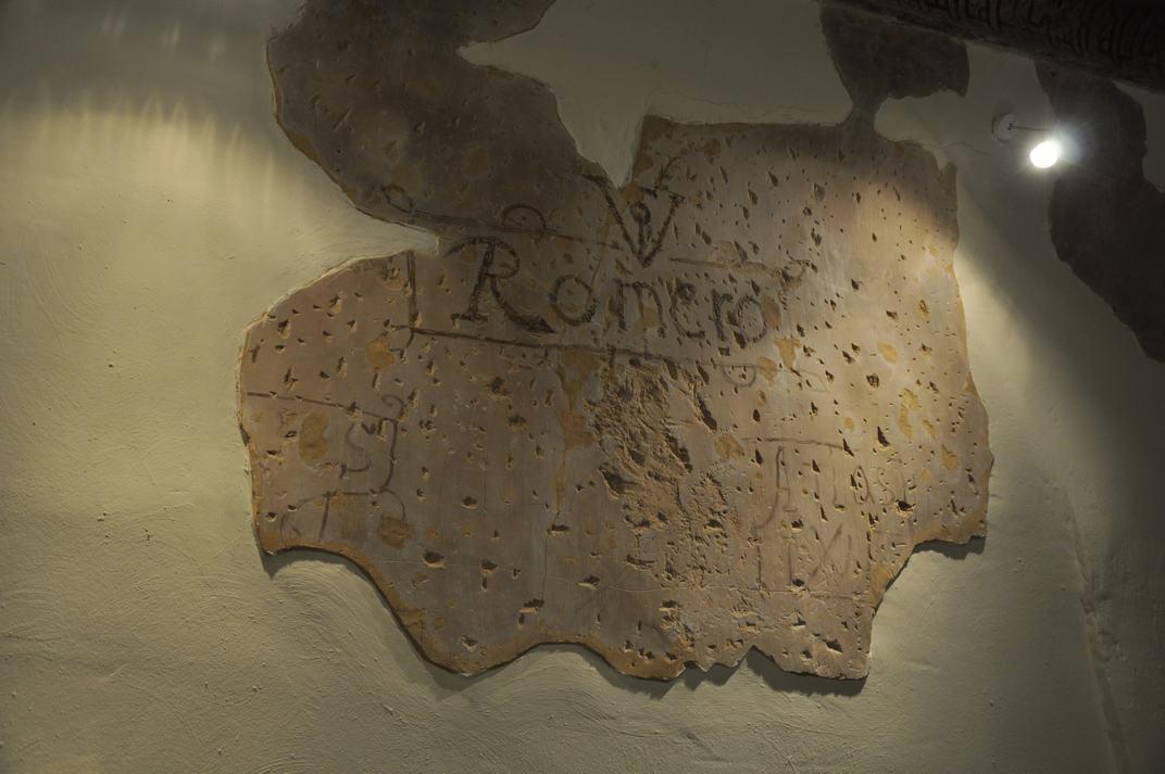 Inscripció de la Casa del Doncel de Sigüenza de Castella-La Manxa