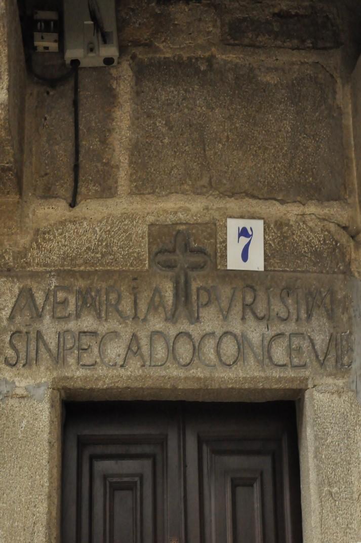 Inscripcions cristianes de La Alberca de Salamanca