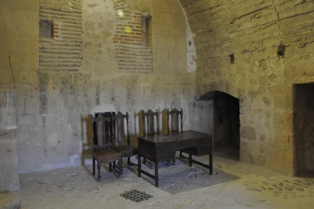 Interior Castell dels Bisbes de Turégano de Segóvia