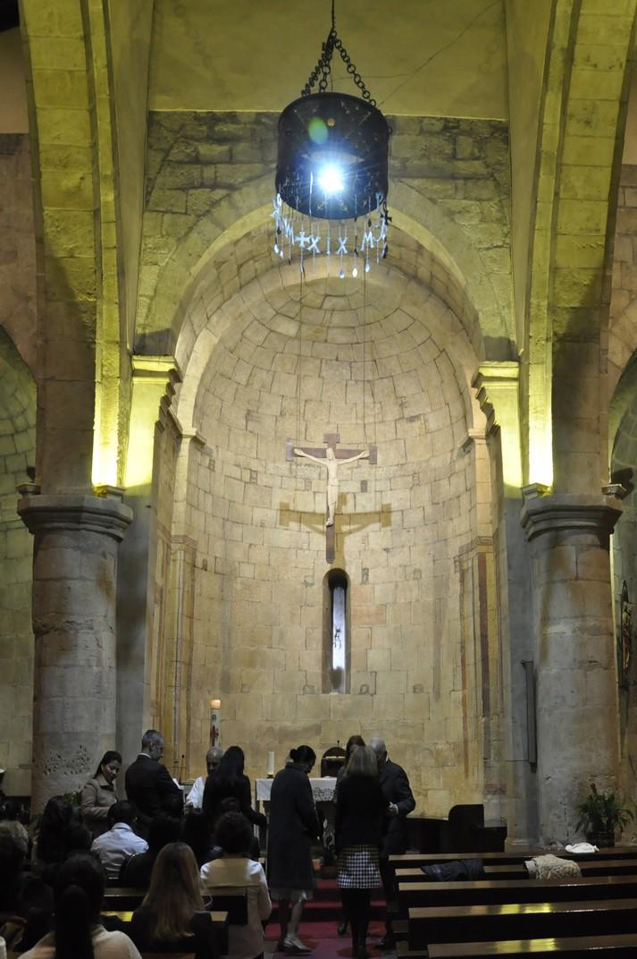 Interior de l'Església de Sant Marc de Salamanca