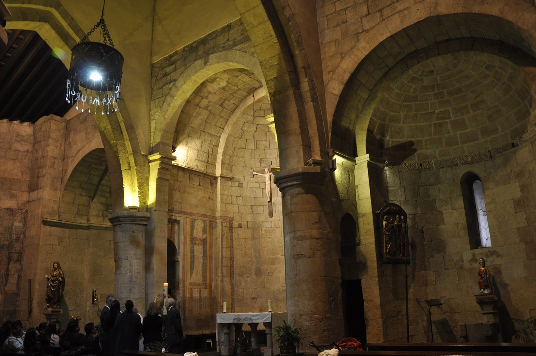 Interior església de Sant Marc de Salamanca
