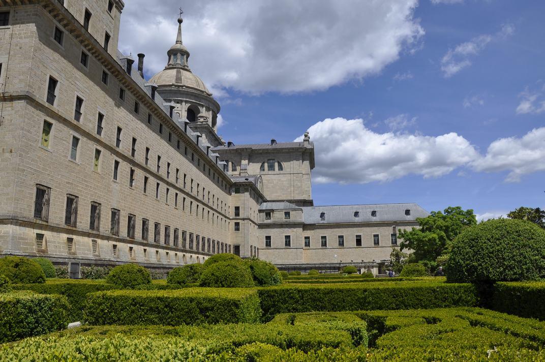 Jardins del Monestir d'El Escorial de Madrid