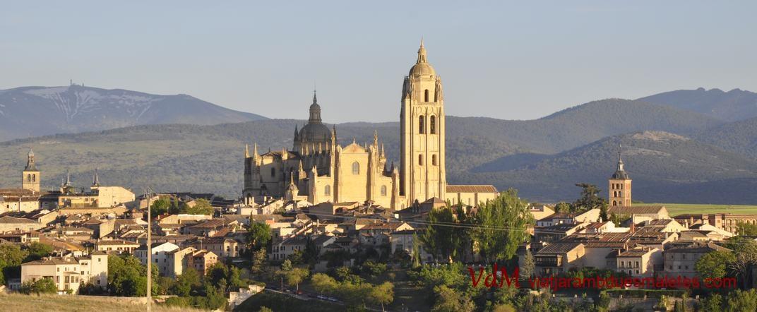 La Catedral de Segòvia des de Zumarramala