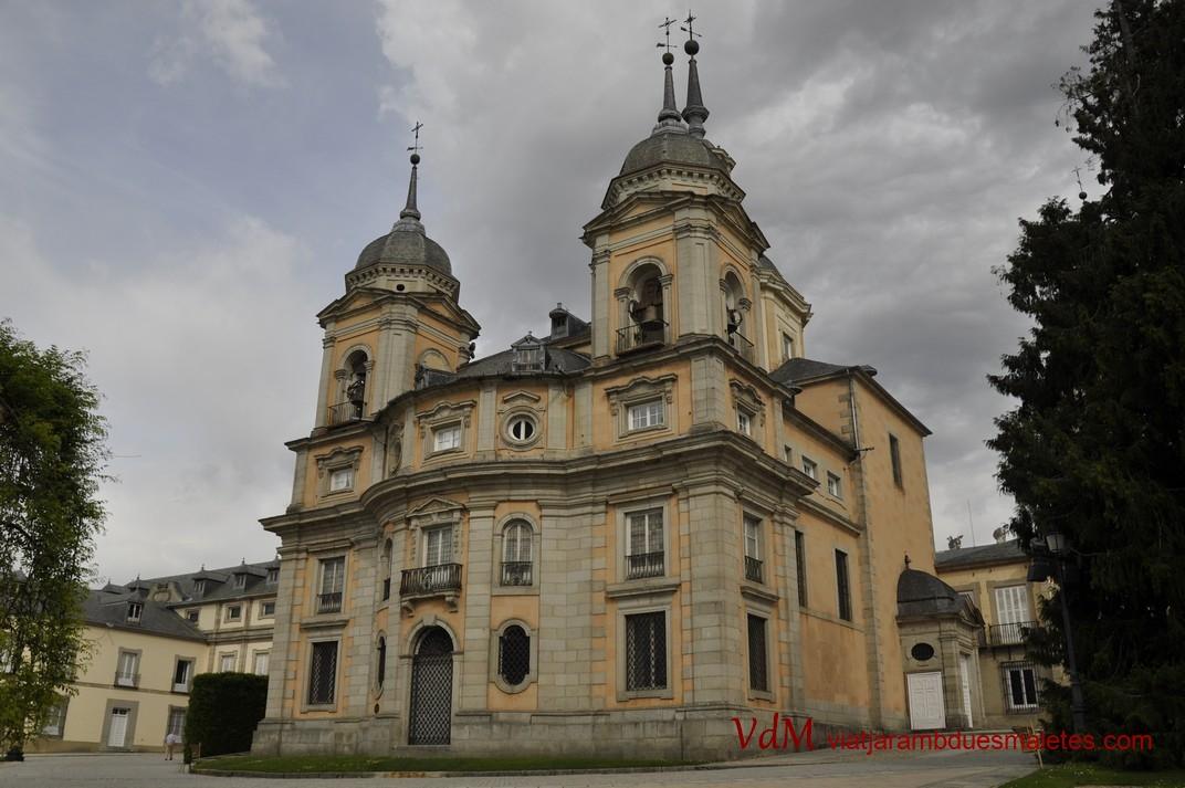 La Col·legiata del Palau de la Granja de Segòvia