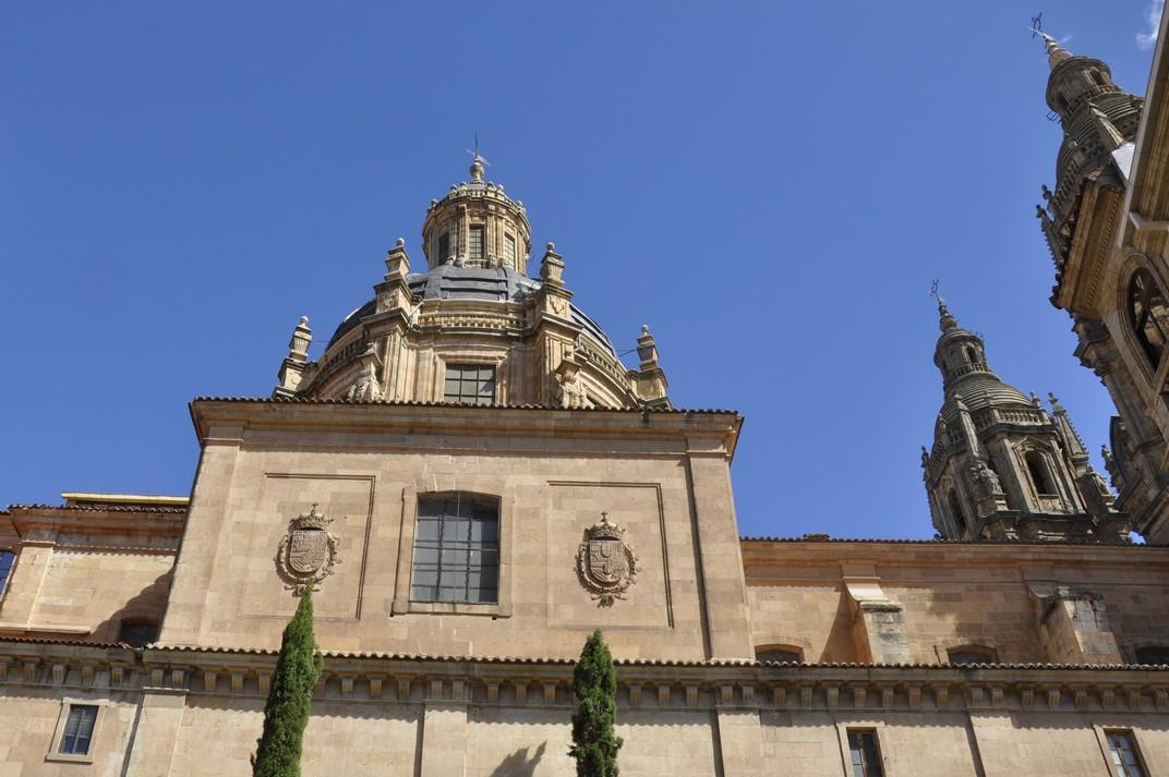 Lateral de la Clerecia de Salamanca
