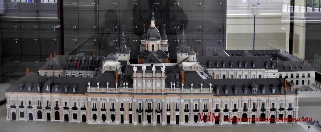 Maqueta del Palau de la Granja de Segòvia