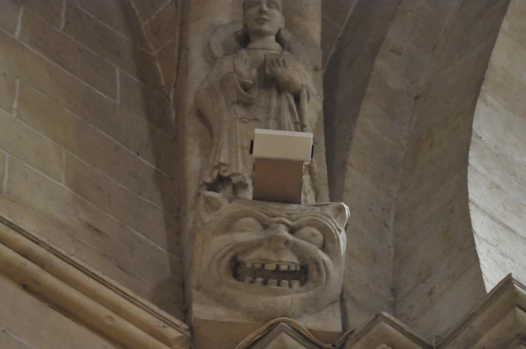 Mènsules de la Catedral Vella de Salamanca